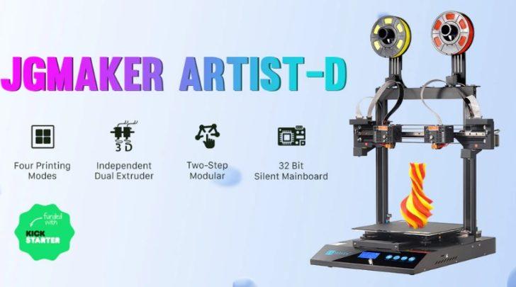test JGMaker Artist-D