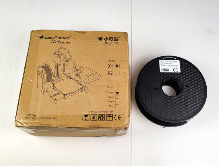 unboxing easythreed x1
