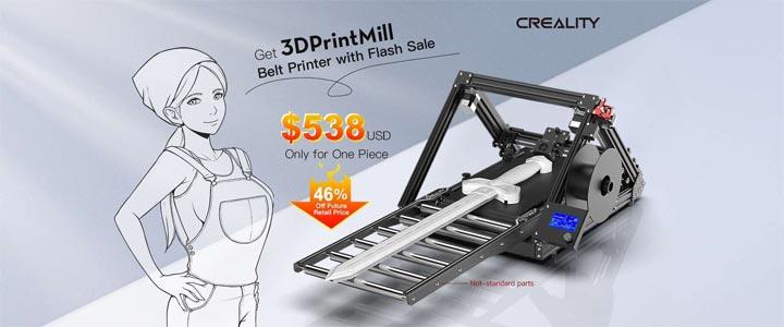 Creality 3dprintmill Naomi SexyCyborg