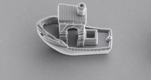 benchy boat impression 3D microscopique