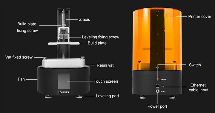 Longer Orange 120 imprimante 3D
