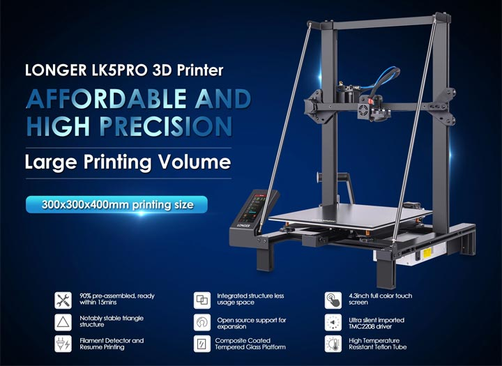 Longer LK5 Pro imprimante 3D photo