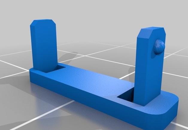 réparer DIY patin circuit Carrera Go STL 3D