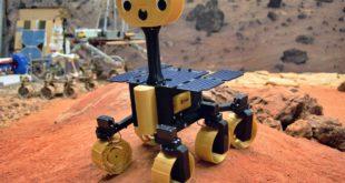 robot spatial Mars ExoMy rover 3D
