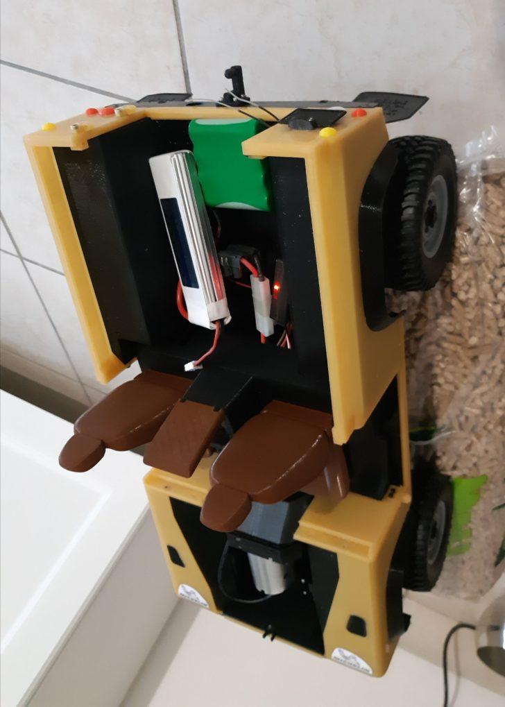 batterie lipo voiture imprimée en 3D