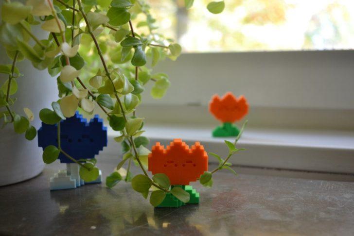 déco fleur de mario imprimée en 3d