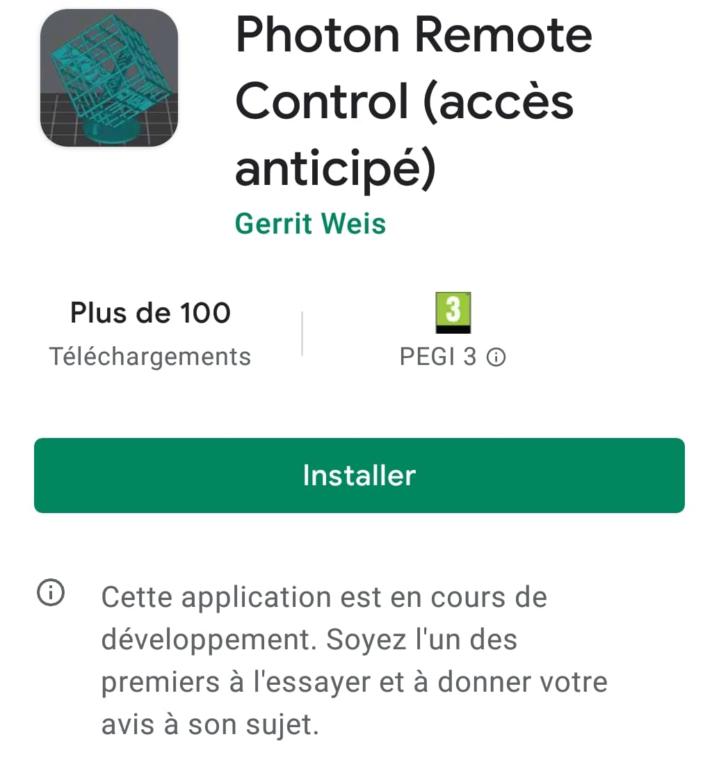 test photon remote control wifi