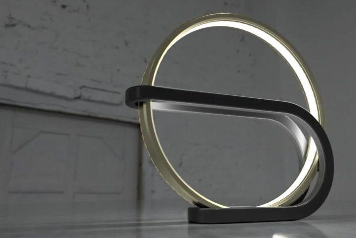 lampe cercle 3D circle lamp