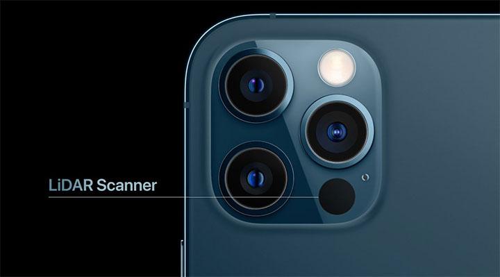 lidar iPhone 12 Pro Max iPad Pro scan 3D gratuit