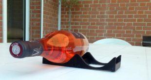 imprimer 3D support bouteille biere vin 75 cl