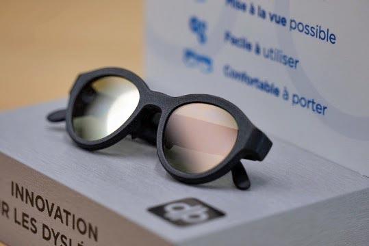 Abeye lunettes connectées dyslexique 3D HP