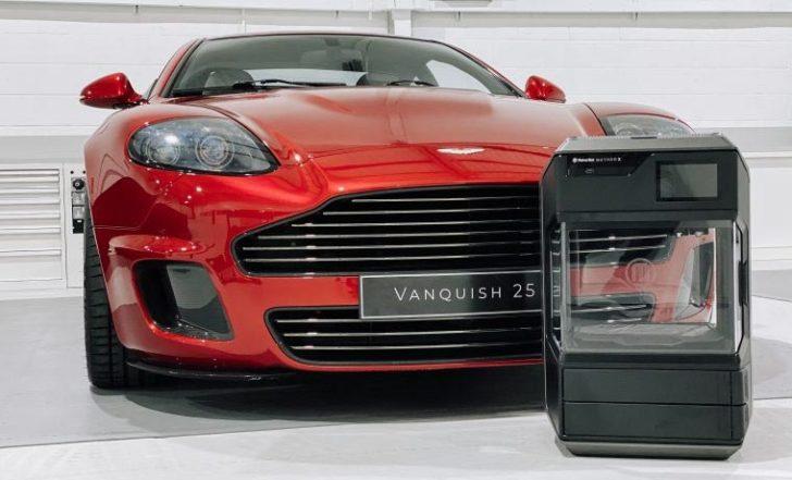 Aston Martin Makerbot