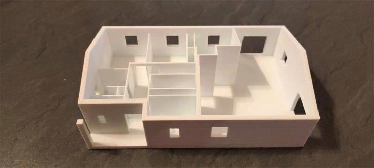 imprimer en 3D plan maison STL architecte
