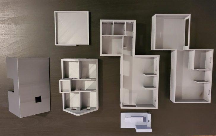 imprimer en 3D STL plan maison architecte