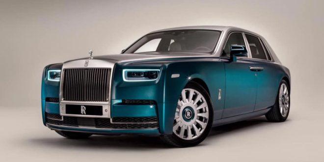Rolls Royce Phantom Iridescent Opulence 3D paon