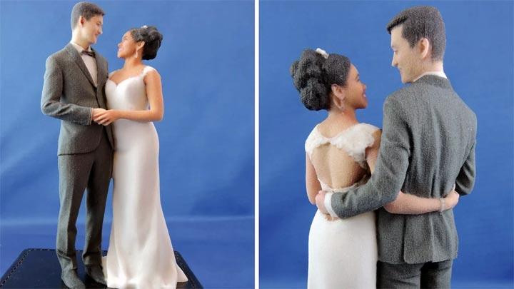 scan 3D couple St Valentin