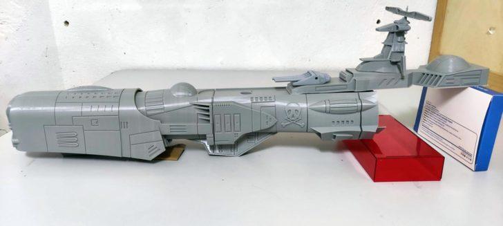 Albator Arcadia Atlantis imprimé en 3D