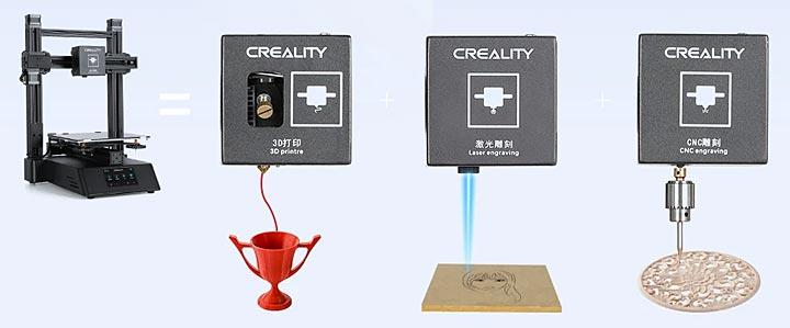 Creality CP-01 3 en 1