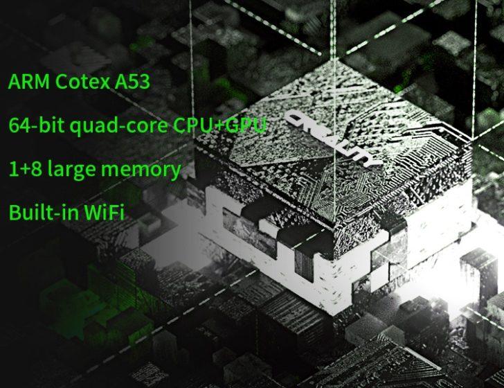 Creality Halot Sky CPU GPU Cortex A53