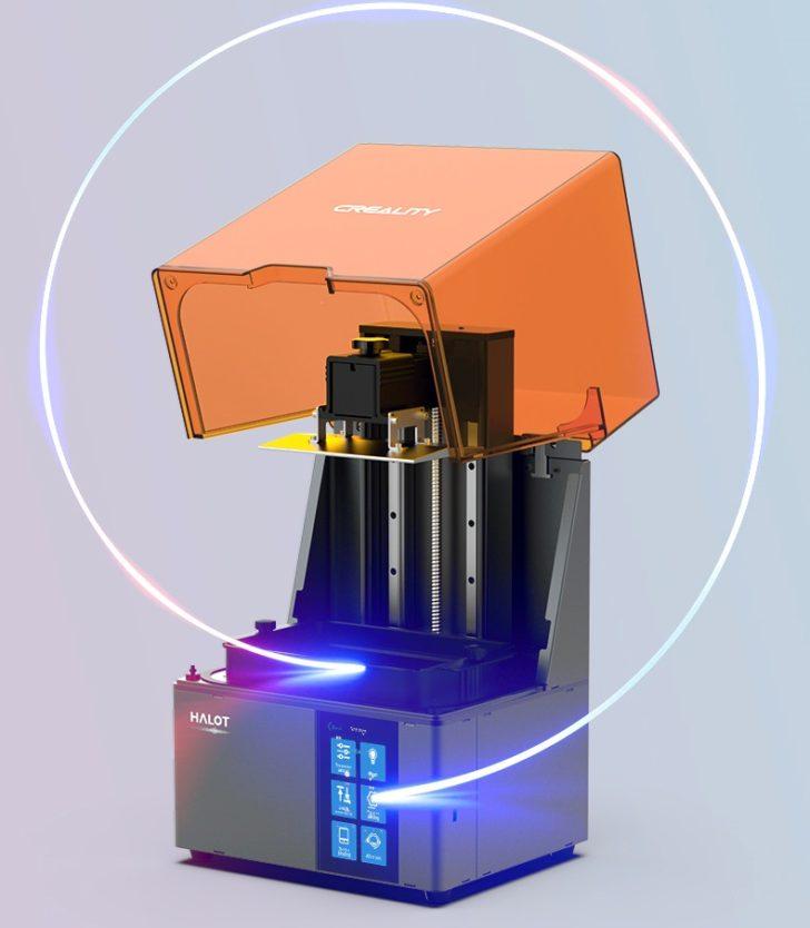 Creality Halot Sky imprimante 3D SLA capot charniere