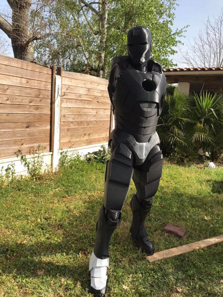 cosplay IRON MAN Mark 7
