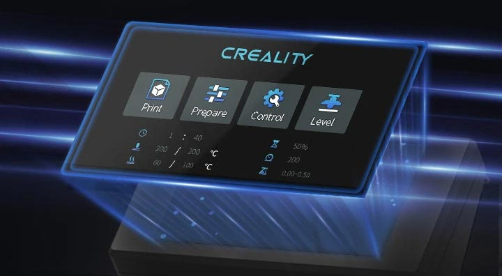 Creality CR-10 Smart ecran