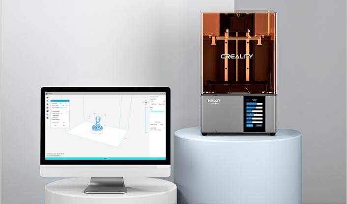 Creality Box slicer logiciel gcode SLA MSLA