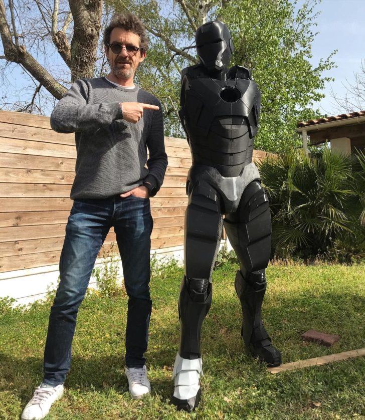 iron man taille humaine