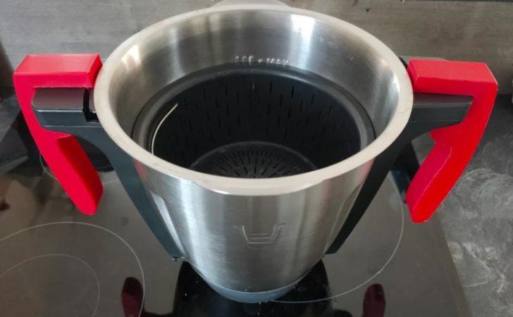 poignees 3d monsieur cuisine robot lidl