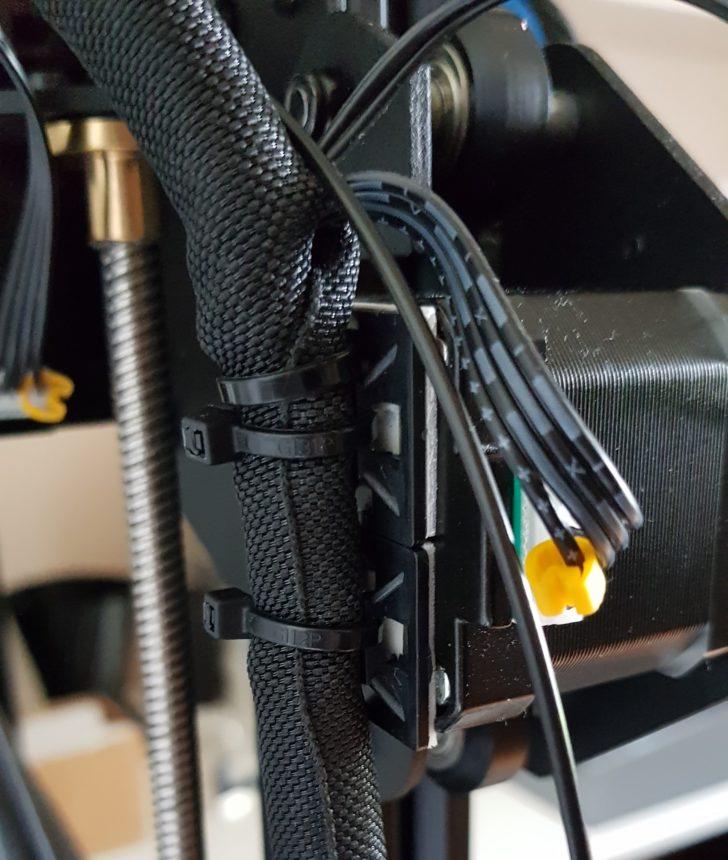 immobilisation du faisceau électrique sujet aux vibrations
