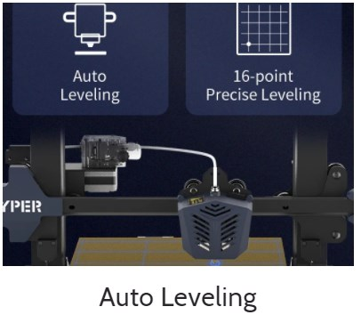 anycubic vyper auto leveling