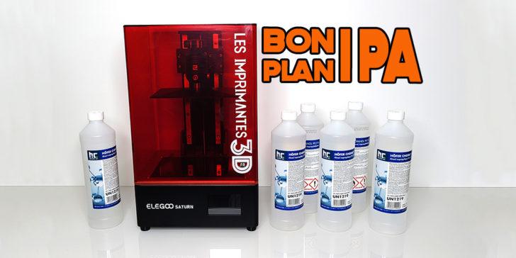 bon plan alcool ipa pas cher pour imprimante 3d résine