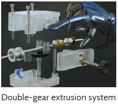 Vyper dual gear extruder
