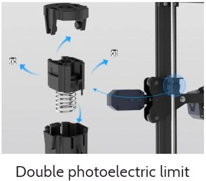double capteur photoélectrique
