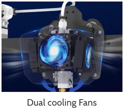 vyper dual cooling fans