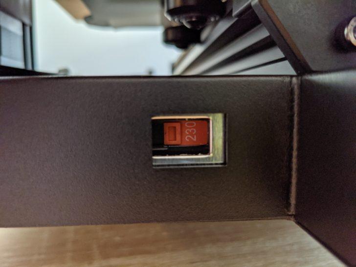 imprimante 3D 230V