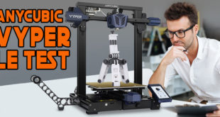 Test Anycubic Vyper Review