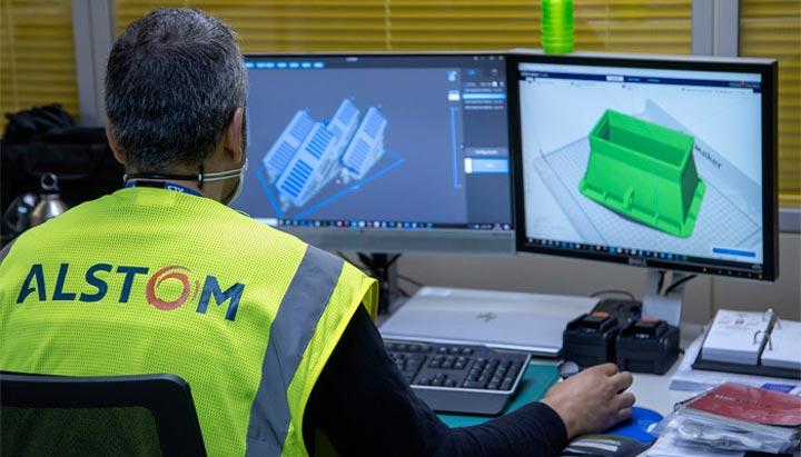 Alstom impression 3D