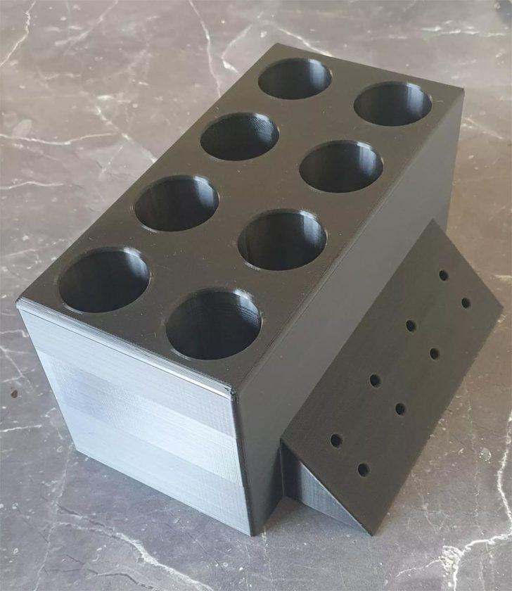 boite rangement cables DIY 3D