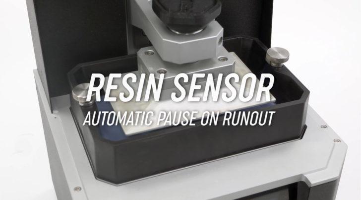 détecteur de résine