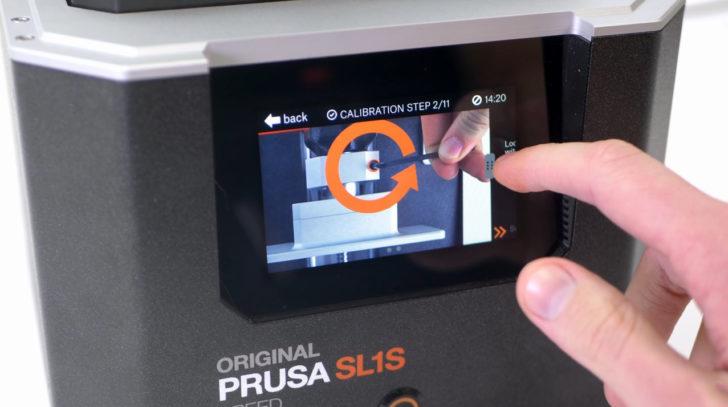 écran tactile SL1S Speed