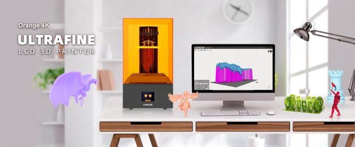Longer Orange 4K imprimante 3D SLA