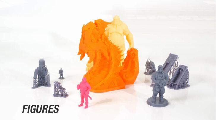 résine sla figurines