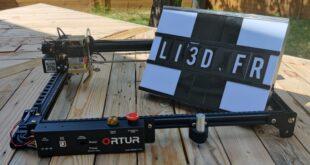 test Ortur Laser Master 2 PRO