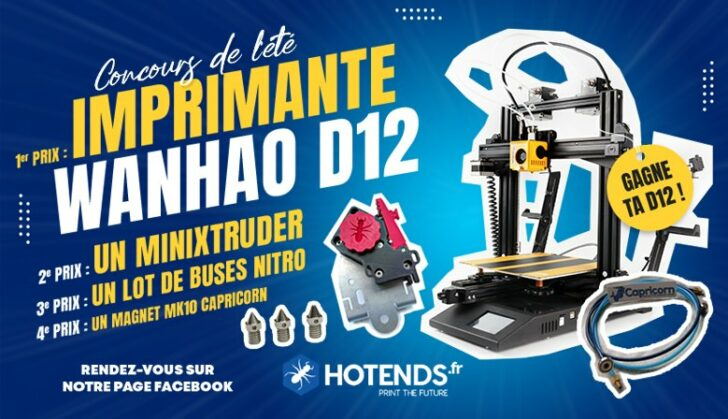 concours wanhao d12