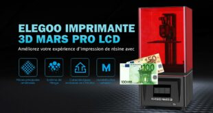 Elegoo Mars Pro 150 euros Amazon France