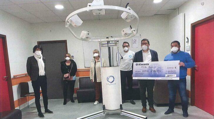 dispositif multi sensoriel imprimante 3D Kiwanis
