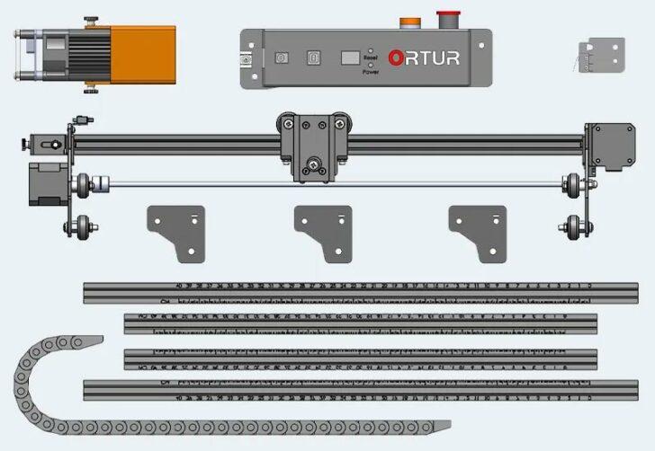tutoriel ortur laser master 2 pro montage