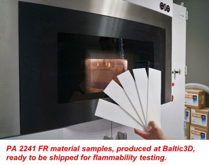 imprimante 3D EOS Baltic3D Etihad