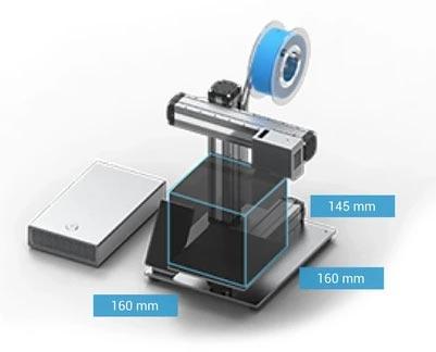 Snapmaker 2.0 A150 imprimante 3D gravure laser CNC